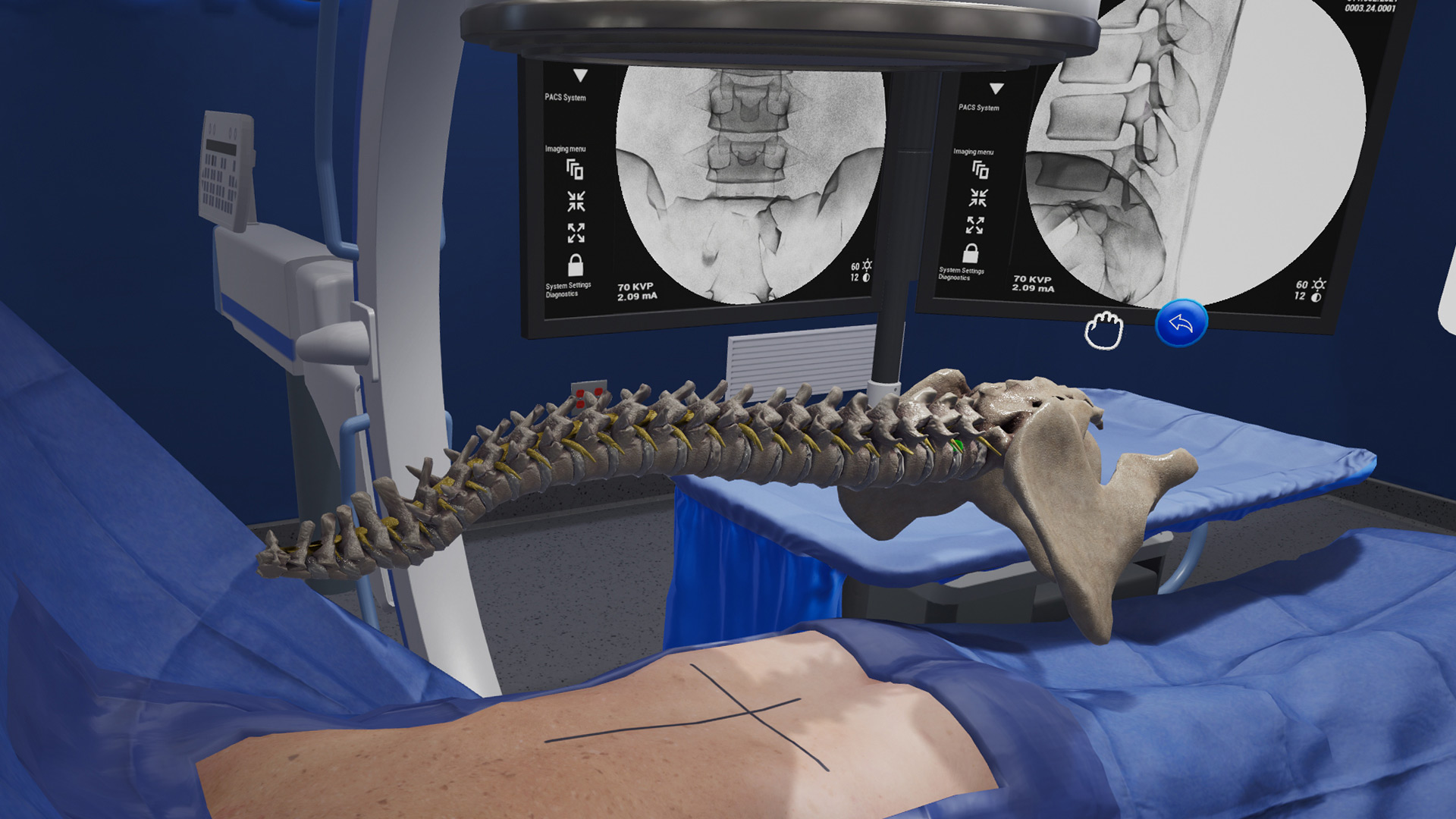 Precision OS - VR surgical training platform.