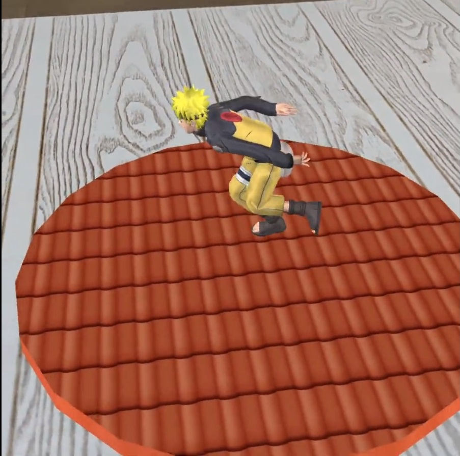 Naruto running